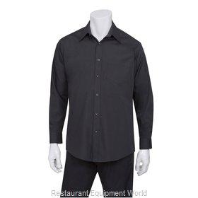 Chef Works D150BLKS Dress Shirt