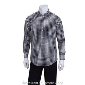 Chef Works D500BWC2XL Dress Shirt