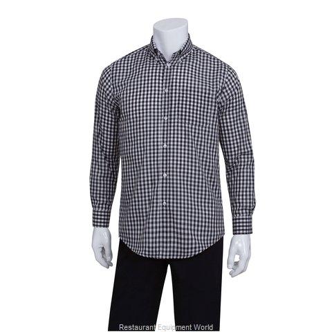 Chef Works D500BWC3XL Dress Shirt