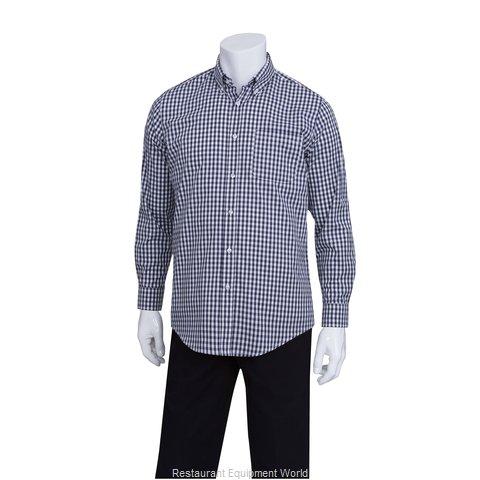 Chef Works D500BWK2XL Dress Shirt