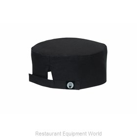 Chef Works DFBBBLK0 Chef's Cap