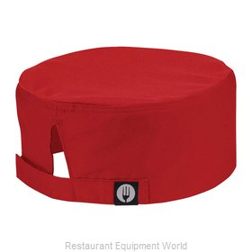 Chef Works DFCVRED0 Chef's Cap
