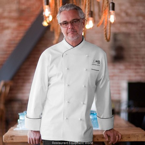 Chef Works ECCBWHT52 Chef's Coat