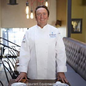 Chef Works ECHRWHT34 Chef's Coat