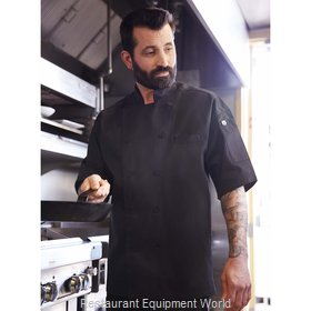 Chef Works EWCVBLKS Chef's Coat