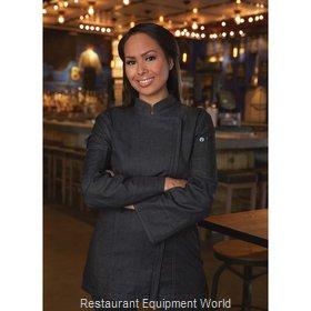 Chef Works EXWDZ002BLKL Chef's Coat