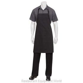 Chef Works F8 BLK0 Bib Apron