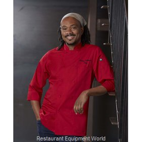 Chef Works JLCLBLKXS Chef's Coat
