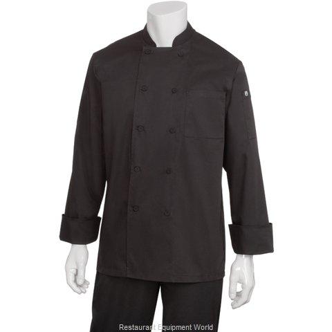 Chef Works JLLSBLK4XL Chef's Coat