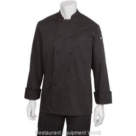 Chef Works JLLSBLKXL Chef's Coat