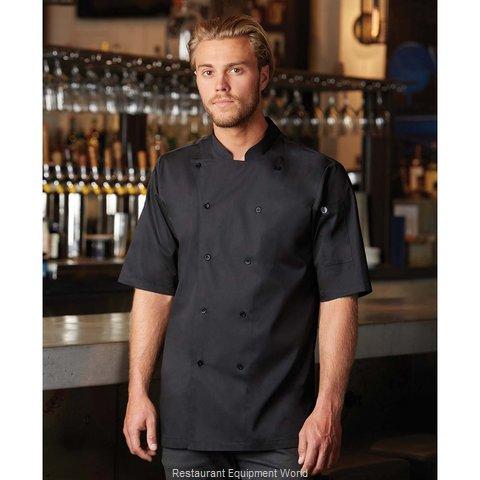 Chef Works K150BLK3XL Chef's Coat