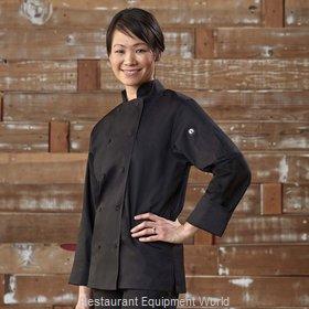 Chef Works LWLJBLKXS Chef's Coat