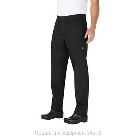 Chef Works PBN01BLKL Chef's Pants