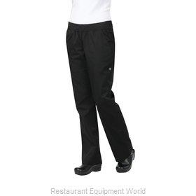 Chef Works PBN01WBLKXL Chef's Pants