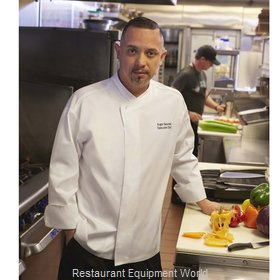 Chef Works PCDFWHTXS Chef's Coat