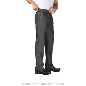 Chef Works PEE01BLKS Chef's Pants