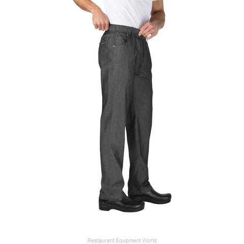 Chef Works PEE01BLKXS Chef's Pants