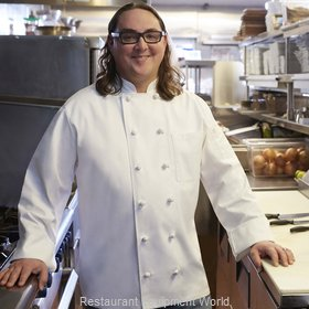 Chef Works PKWCWHTL Chef's Coat