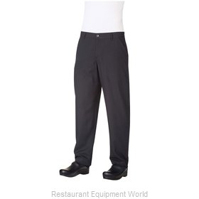Chef Works PS003BLK34 Chef's Pants