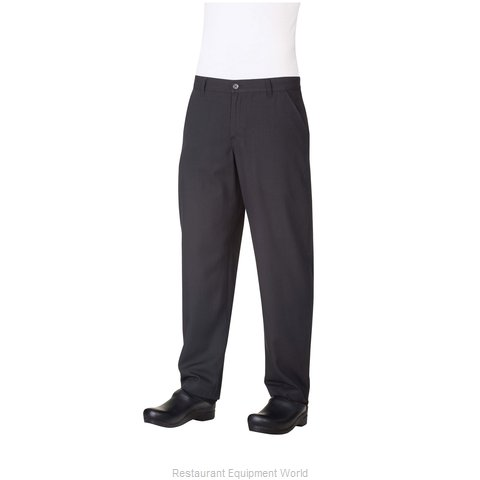 Chef Works PS003BLK48 Chef's Pants