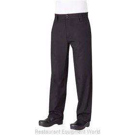 Chef Works PS005BLK48 Chef's Pants