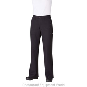 Chef Works PW003BLKXS Chef's Pants