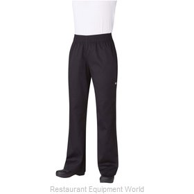 Chef Works PW005BLKXS Chef's Pants