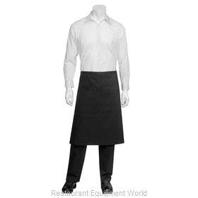 Chef Works REVF24BLK0 Waist Apron