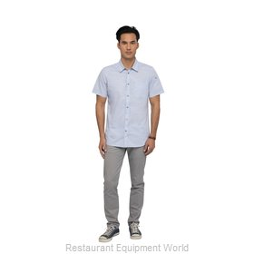 Chef Works SHC01BLUL Cook's Shirt