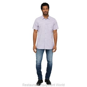 Chef Works SHC01PURS Cook's Shirt
