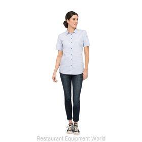 Chef Works SHC01WBLUS Cook's Shirt