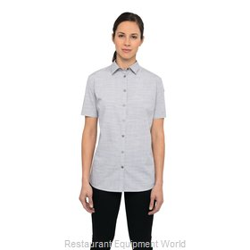 Chef Works SHC01WGRY2XL Cook's Shirt