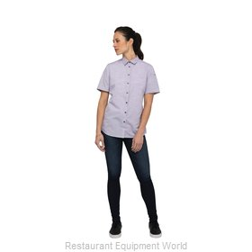 Chef Works SHC01WPUR2XL Cook's Shirt