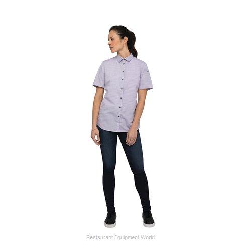 Chef Works SHC01WPURM Cook's Shirt