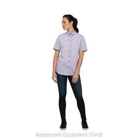 Chef Works SHC01WPURXS Cook's Shirt