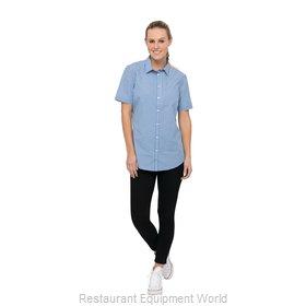 Chef Works SHC02WBLUXL Cook's Shirt
