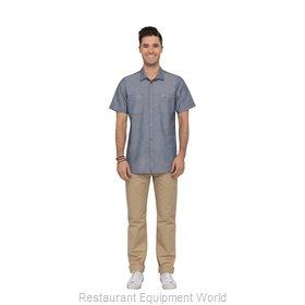 Chef Works SHC04SLAS Cook's Shirt