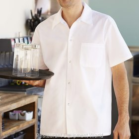 Chef Works SHYKWHT3XL Cook's Shirt