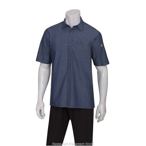 Chef Works SKS002IBLXS Cook's Shirt