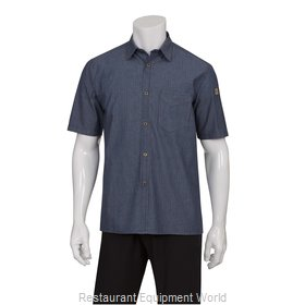 Chef Works SKS003IBL3XL Cook's Shirt