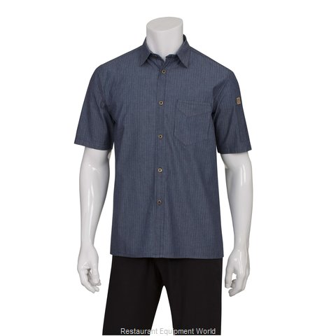 Chef Works SKS003IBLM Cook's Shirt