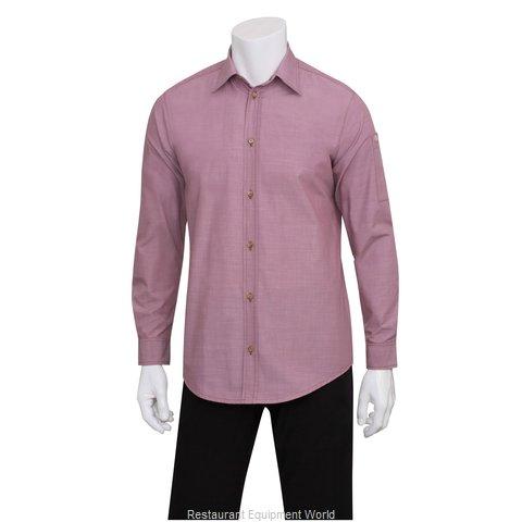 Chef Works SLMCH005DURS Dress Shirt