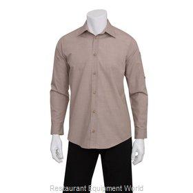 Chef Works SLMCH005ECRM Dress Shirt