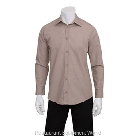 Chef Works SLMCH005ECRXS Dress Shirt