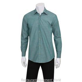 Chef Works SLMCH005GRMM Dress Shirt