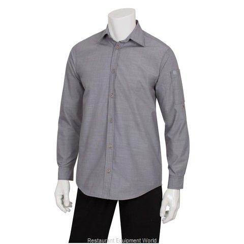 Chef Works SLMCH005GRY4XL Dress Shirt