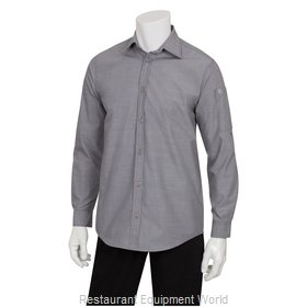 Chef Works SLMCH005GRY4XL Dress Shirt