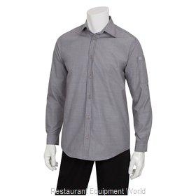 Chef Works SLMCH005GRYXS Dress Shirt