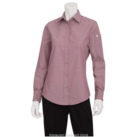 Chef Works SLWCH002DURL Dress Shirt
