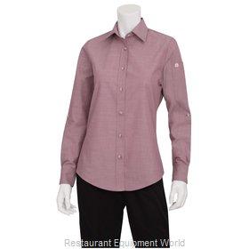 Chef Works SLWCH002DURM Dress Shirt